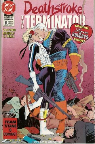 Deathstroke the Terminator (1991 series) #11 DC Comics June 1992 FN/VF