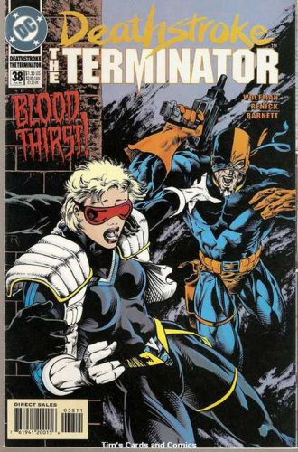 Deathstroke the Terminator (1991 series) #38 DC Comics July 1994 FN