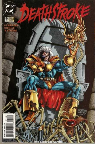 Deathstroke the Terminator (1991 series) #51 DC Comics Sept 1995 VG
