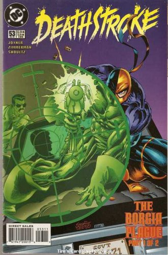 Deathstroke the Terminator (1991 series) #51 DC Comics Nov 1995 FN
