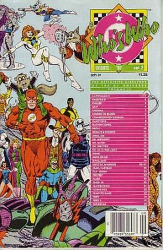 Who's Who Update 1987 #2 DC Comics Sept 1987 VG
