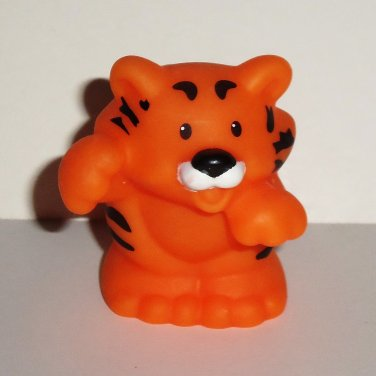 Fisher-Price Little People Tiger Figure Mattel 2007 Loose Used