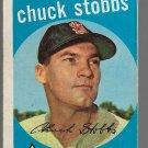 1959 Topps Baseball Card #26 Chuck Stobbs St. Louis Cardinals GD