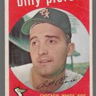 1959 Topps Baseball Card #410 Billy Pierce Chicago White Sox GD A