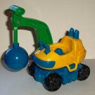 Fisher-Price Little People Crane w/ Wrecking Ball from 77711 Stack 'N Crash Worksite 2001 Loose Used