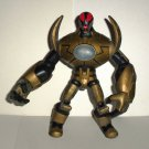 Spin Master 2011 Redakai Gold Metanoid Action Figure Loose Used