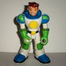 Fisher-Price #L1994 Planet Heroes Earth Ace Figure Only Chest Litho Missing Mattel Loose Used