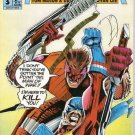 Man of War (1993 series) #3 Direct Edition Malibu Comics April 1993 FN