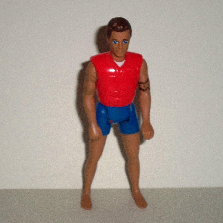 Mcdonald S 1995 Barbie Lifeguard Ken Caucasian Figure
