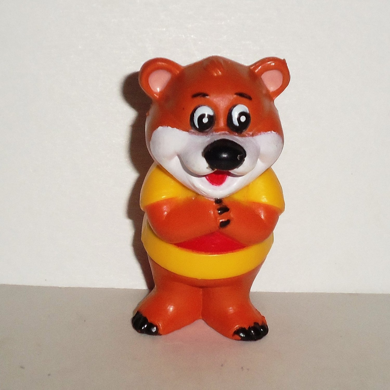 McDonald's 1987 Kissyfur Bear Figure Happy Meal Toy Loose Used