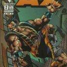 Man Called A-X #2 Bravura Malibu Comics Dec 1994 FN