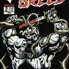 Breed #2 Bravura Malibu Comics Feb 1994 FN