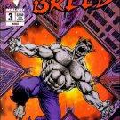 Breed #3 Bravura Malibu Comics March 1994 VG