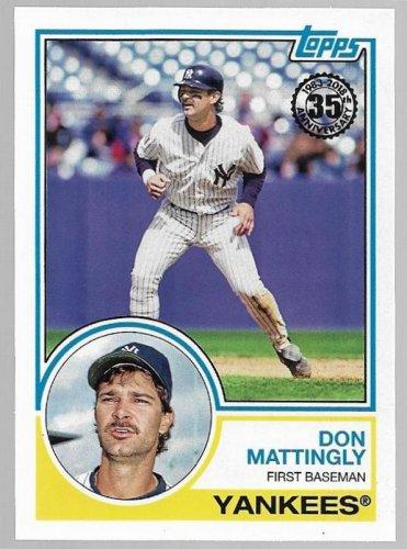 2018 Topps 1983 Topps Baseball Card 83 56 Don Mattingly New