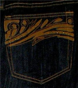 VENEZIA DARK BLUE JEANS WOMAN/MISSES SIZE 22 STRETCH STYLISH POCKETS 99% COTTON