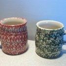 Henn Workshops green sponged classic mug