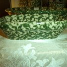 Henn Workshops green sponged treat (relish) dish