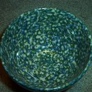 Henn Workshops double sponged blue/green ice cream bowl