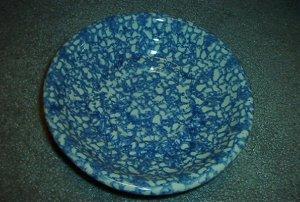 Henn Workshops blue sponged  museum bowls set of 2