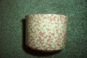 Henn Workshops rose sponged condiment cup