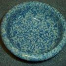 Henn Workshops blue sponged porridge bowl