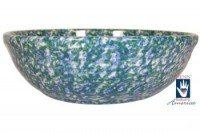Henn Workshops double blue/green medium pasta bowl