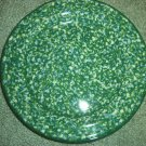 Henn Workshops double blue/green sponged dinner plates set of 2