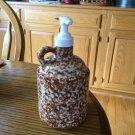 Henn Workshops brown sponged soap/lotion dispenser