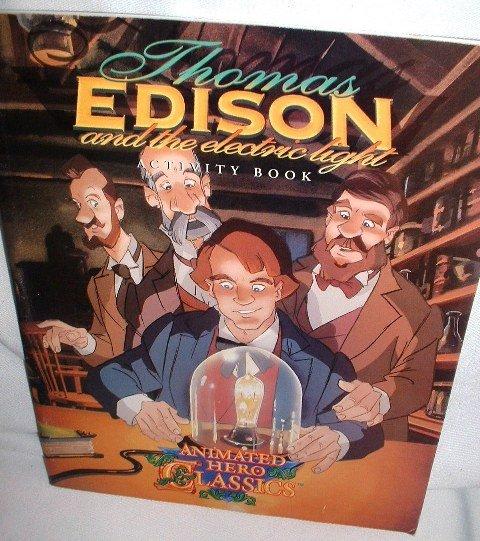 Thomas Edison Activity Book Animated Hero Classics