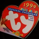 TY Beanie Babies Weekly Desk Calendar 1999