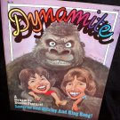 Dynamite Magazine 1976 Laverne and Shirley w/ Pull-out Poster of King Kong #28
