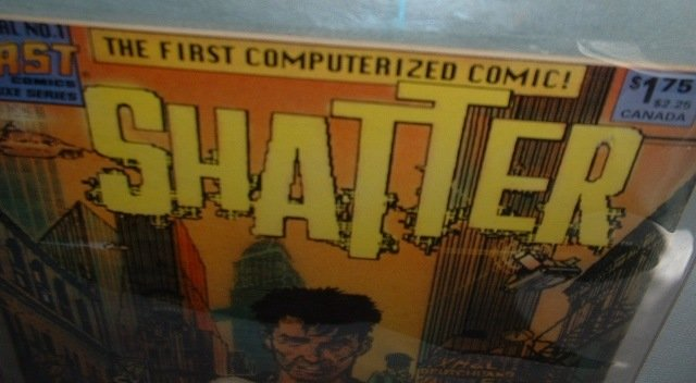 Shatter Special no1 The First Computerized Comic 1985