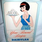 Dairylea Dairy Milk Vintage Year Round Recipes Booklet