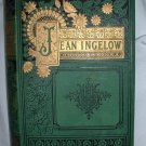 Jean Ingelow Antique 1863 Victorian Poetry Good Condition Poem Book The Poetical Works