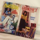 Annies Pattern Club and Crochet Newsletter 2Lot Crafted books Dated 1987 Booklets No's 27 and 44