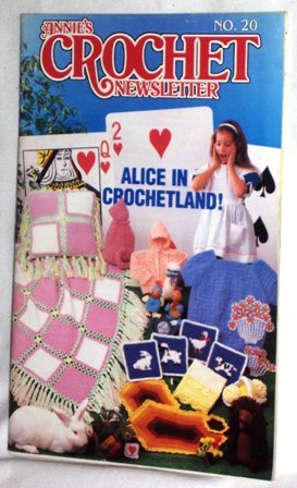 Annie's Crochet Newsletter No. 20 March-April 1986 Vintage Crocheting Patterns