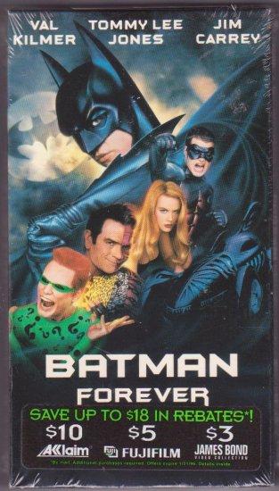 Batman Forever VHS Video Dated 2000 Val Kilmer Tommy Lee Jones Jim Carrey