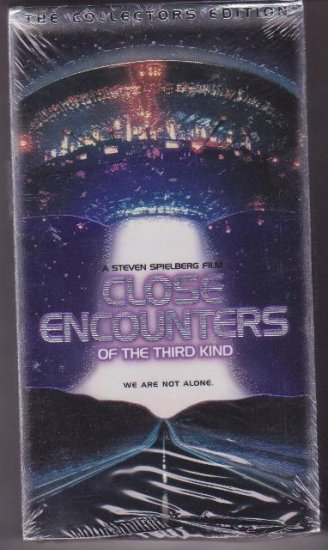 Close Encounters of the Third Kind VHS 1998 Collectible Edition Mint