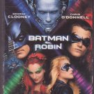 Batman and Robin VHS Video Action Adventure Schwarzenegger Clooney 2001