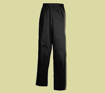 Susan Graver Stretch Sateen Side Zip Pants SZ 1X