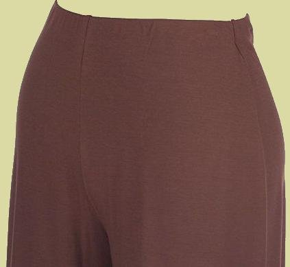 FREELANCE Black Modal/Seam No-Waistband Wide Leg Pants SZ 2X