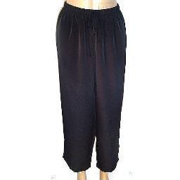 SUSAN GRAVER Peachskin Pull-On Crop Pants SZ 1X