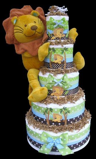 Safari Diaper Cake Toppers