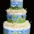 Snug As A Bug Diaper Cake, Baby Shower Centerpiece