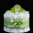 1 Tier Baby Frog - Baby Shower Diaper Cake/ Centerpiece