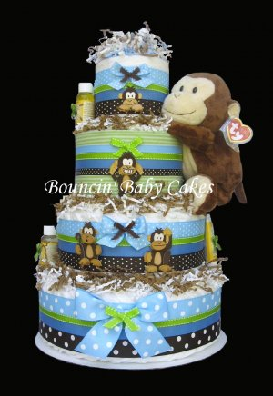 How To Make A Receiving Blanket Cake