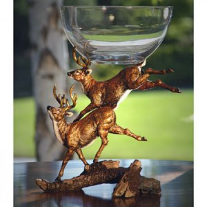 Imperial Jumping Deer Bowl
