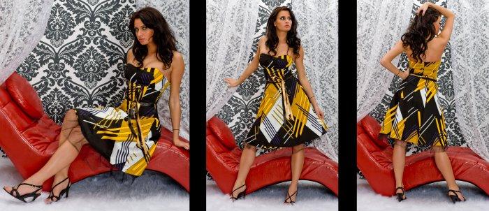 CElEBRITY EVENING DRESS -red carpet dress