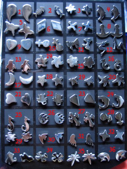 Sterling Silver Earrings Wholesale 36 Pairs for $72 ONLY (Free Shopping)