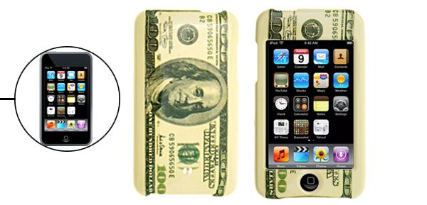 Dollar Bill Pattern Plastic Case Cover for iPod Touch 2nd Generation�Free Shipping to Worldwide�